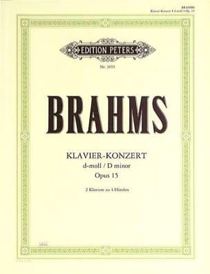 BRAHMS - Piano Concerto No. 1 Opus 15 In D Minor. - Sheet Music - di-arezzo.co.uk