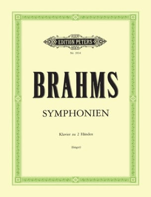 BRAHMS - 4 Symphonies - Sheet Music - di-arezzo.co.uk