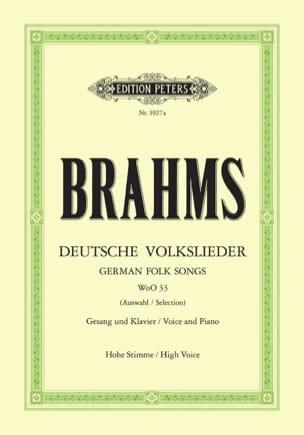 Deutsche Volkslieder Woo 33. Voix Haute - laflutedepan.com