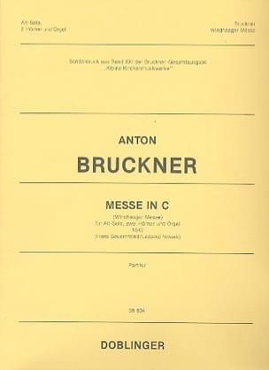 Messe En Ut - Anton Brückner - Partition - Cor - laflutedepan.com