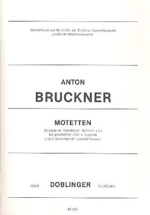Anton Brückner - Motetten. - Partitura - di-arezzo.it