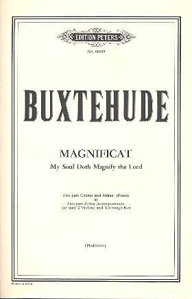 Dietrich Buxtehude - Magnificat - Partition - di-arezzo.fr