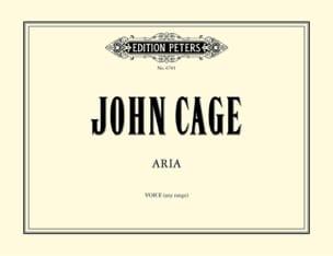 John Cage - Aria. - Partition - di-arezzo.fr