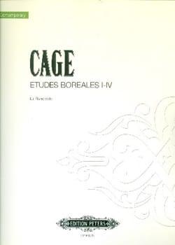 John Cage - Etudes Boréales 1-4 - Partition - di-arezzo.fr