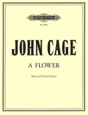 John Cage - A Flower - Partition - di-arezzo.fr