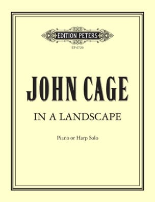 John Cage - In A Landscape - Sheet Music - di-arezzo.co.uk