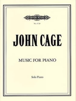 Music for Piano 1 CAGE Partition Piano - laflutedepan