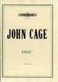 One 5 - John Cage - Partition - Piano - laflutedepan.com