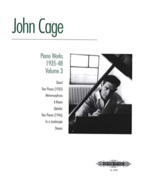 John Cage - Piano Works (1935-48) Volume 3 - Partition - di-arezzo.fr