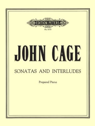 John Cage - Sonatas and Interludes - Sheet Music - di-arezzo.com