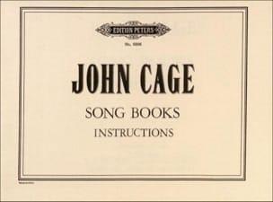 Song Books (instructions) - John Cage - Partition - laflutedepan.com