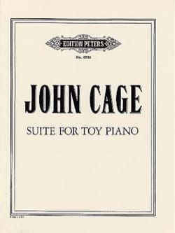 John Cage - Suite For Toy Piano - Partition - di-arezzo.fr