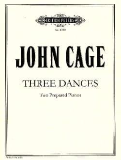John Cage - 3 Dances. 2 Pianos - Partition - di-arezzo.ch