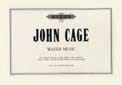Water Music - John Cage - Partition - Piano - laflutedepan.com