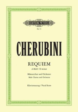 Requiem Ré Mineur Luigi Cherubini Partition Chœur - laflutedepan