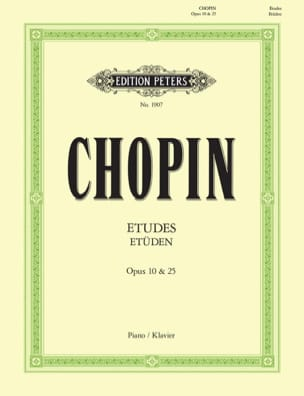 CHOPIN - Studies Opus 10 and Opus 25 3 Studies - Sheet Music - di-arezzo.co.uk