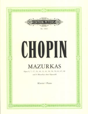 CHOPIN - Mazurkas - Partitura - di-arezzo.it
