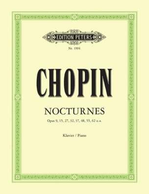 21 Nocturnes CHOPIN Partition Piano - laflutedepan
