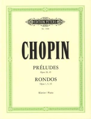 Frédéric Chopin - Préludes et Rondos - Partition - di-arezzo.fr