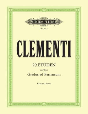 Muzio Clementi - Gradus Ad Parnassum - Sheet Music - di-arezzo.co.uk