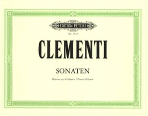 Sonates 4 Mains - Muzio Clementi - Partition - laflutedepan.com