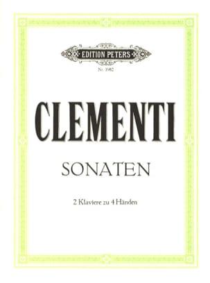 Muzio Clementi - 2 Sonates. 2 Pianos - Partition - di-arezzo.fr