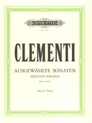 Sonates. Volume 1 CLEMENTI Partition Piano - laflutedepan
