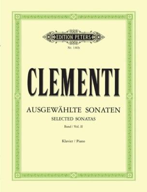 Sonates. Volume 2 - Muzio Clementi - Partition - laflutedepan.com