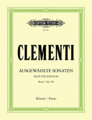 Muzio Clementi - Sonatas. Volume 3 - Sheet Music - di-arezzo.co.uk