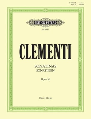Muzio Clementi - Sonatines Opus 36 - Sheet Music - di-arezzo.co.uk
