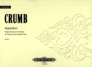 George Crumb - Appearance - Sheet Music - di-arezzo.co.uk