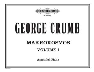 Makrokosmos. Volume 1 George Crumb Partition Piano - laflutedepan