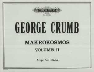 Makrokosmos. Volume 2 George Crumb Partition Piano - laflutedepan