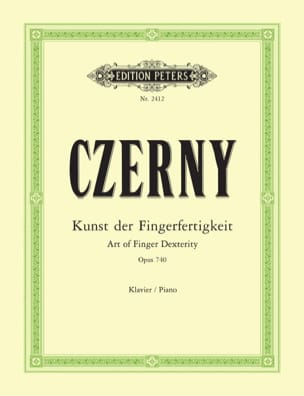 CZERNY - The Art of Untying the Fingers Opus 740 699 - Sheet Music - di-arezzo.com