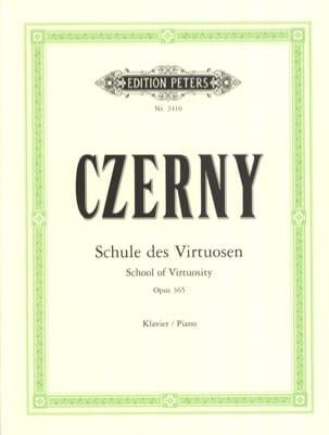 CZERNY - Schule of Virtuosen Opus 365 - Sheet Music - di-arezzo.co.uk
