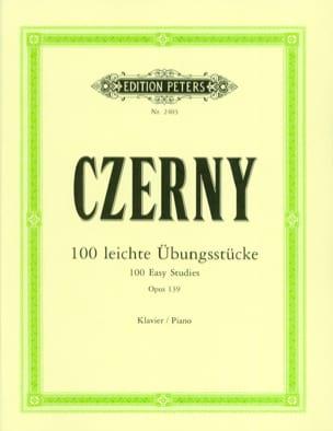 CZERNY - 100 Leichte Uebungsstücke Opus 139 - Partitura - di-arezzo.es