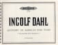 Ingolf Dahl - Quodlibet On American Folk Tunes. 2 pianos 8 mains - Partition - di-arezzo.fr