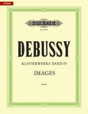 Claude Debussy - Oeuvres Pour Piano. Volume 4 - Partition - di-arezzo.fr