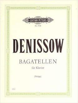 Bagatellen Edison Denisov Partition Piano - laflutedepan