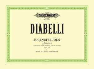 Anton Diabelli - L'ami des Enfants Opus 163. 4 Mains - Partition - di-arezzo.fr