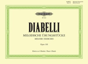 Anton Diabelli - Melodies Opus 149. 4 Hands - Sheet Music - di-arezzo.co.uk