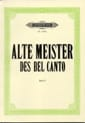 Alte Meister of Bel Canto 1. Soprano - Partition - di-arezzo.co.uk