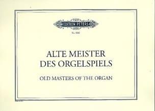 - Alte Meister of Orgelspiels - Sheet Music - di-arezzo.com
