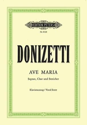 Gaetano Donizetti - Ave Maria - Sheet Music - di-arezzo.co.uk