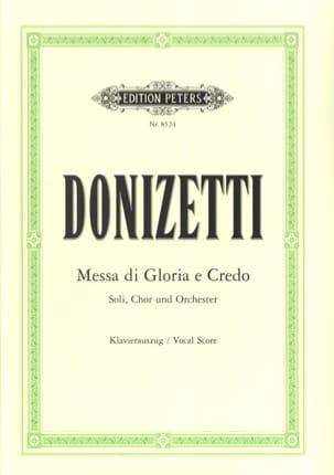 Gaetano Donizetti - Missa di Gloria et Credo - Partition - di-arezzo.fr