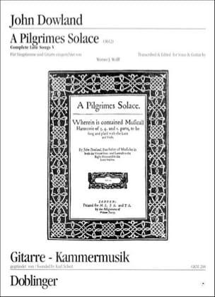 John Dowland - A Pilgrimes Solace Trost Pilgers - Sheet Music - di-arezzo.co.uk