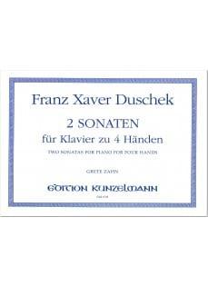 Sonaten 2 - Duschek - Partition - Piano - laflutedepan.com