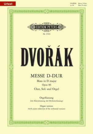 DVORAK - Messa nell'Opera Maggiore Maggiori 86 - Partitura - di-arezzo.it