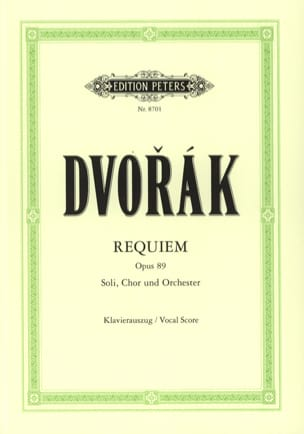 DVORAK - Requiem Opus 89 - Sheet Music - di-arezzo.co.uk