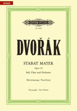 DVORAK - Stabat Mater - Opus 58 - Sheet Music - di-arezzo.co.uk